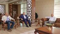 İyi Parti İl Başkanı Şefik Çirkin'den Necmettin Çalışkan'a ziyaret