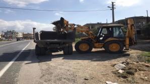 Samandağ'da temizlik çalışmaları aralıksız sürdürülüyor