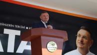 Hatay Büyükşehir Belediye Başkanı Lütfü Savaş, yeni asfaltlanan  Kırıkhan Topboğazı  yolunun açılışında konuştu: Kırıkhan içmesuyu projesi Sonbaharda başlayacak