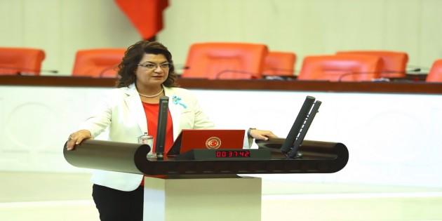 CHP Milletvekili Suzan Şahin Mevsimlik tarım işçilerinin sorunlarını gündeme getirdi. Kölelik sistemi kaldırıldı sanmayın, Hatay'da devam ediyor