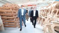 Vali Doğan Antakya Mobilyacılar İhtisas Sanayi Sitesi'ni Ziyaret Etti