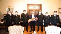 Jandarma Komutanı Albay Ertekin'den Vali Doğan'a Ziyaret