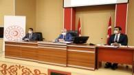 MESEM Projesi Değerlendirme Toplantısı Vali Rahmi Doğan başkanlığında Yapıldı