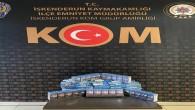 İskenderun'da 260 paket kaçak sigara ele geçirildi