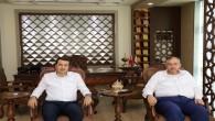 İyi Parti önceki dönem Kırıkhan Belediye Başkanı Adayı Erhan Yavuz Yılmaz'dan; Doç. Dr. Necmettin Çalışkan'a ziyaret