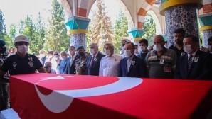Siirt'te şehit  düşen Özel Harekat Polisi  Kemal Kurtul vatan toprağına emanet edildi