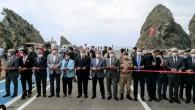 Çevlik-Arsuz sahil yolu coşkulu bir törenle açıldı
