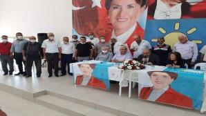Altınözü'nde İyi Parti'de yeni Başkan Ömer Bozkurt