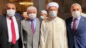 Ayasofya'nın açılışına katılan AKP Hatay Milletvekili Hüseyin Şanverdi,  korona virüse yakalandığı iddia edildi