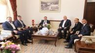 Kazakistan'ın Türkiye Büyükelçisi Abzal Saparbekuly'den Başkan Savaş'a ziyaret