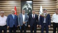 Başkan Savaş, Kazakistan Cumhuriyet Türkiye Büyükelçisi Abzal Saparbekuly ve iş insanları ile toplantı gerçekleştirdi