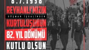Başkan Savaş, Reyhanlı'nın düşman işgalinden kurtuluşunu kutladı