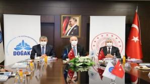 Vali Rahmi Doğan, DOĞAKA'nın 94. Yönetim Kurulu  Toplantısına ev sahipliği yaptı