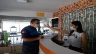 Antakya Belediyesinden işletmelerde korona virüsü denetimi