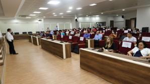 Hatay Büyükşehir Belediyesi personeline eğitim