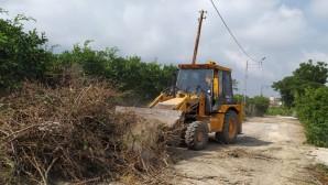 Samandağ Belediyesi Fen İşleri Ekipleri Dur durak bilmiyor