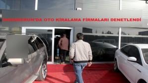 İskenderun'da Araç Kiralama Firmaları Denetlendi