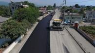 Hatay Büyükşehir Belediyesi'nden Dörtyol ve Erzin'e Beton asfalt