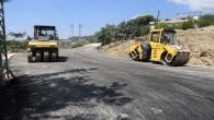 Hatay Büyükşehir Belediyesi, Karlısu göleti yolunda çalışmalarını sürdürüyor