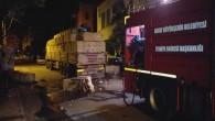 Hatay Büyükşehir Belediyesi'nden Dörtyol ilçesindeki yangına hızla müdahale