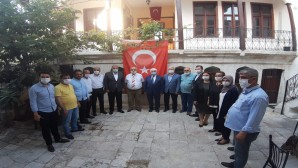 AK Parti Heyetinden Antakya Gazeteciler Cemiyeti'ne Ziyaret