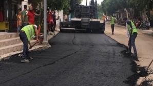Hatay Büyükşehir Belediyesi'nden Kalıcı Beton asfalt
