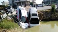 Samandağındaki kaza ucuz atlatıldı