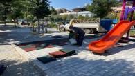 Antakya Belediyesi Parklardaki bakım ve onarım çalışmalarını sürdürüyor