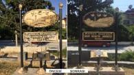 Antakya Belediyesi'nden Rölyefli Tabelalarda bakım ve onarım çalışması