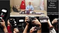 Sağlık Müdürü Dr. Mustafa Hambolat 24 Temmuz Basın Bayramını kutladı