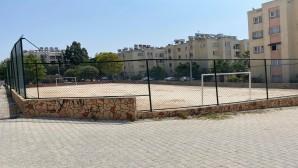 Antakya Belediyesi Spor alanlarının bakım-onarımını yaptı