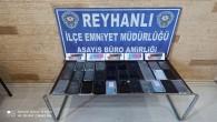 Reyhanlı'da 31 adet kaçak cep telefonu ele geçirildi