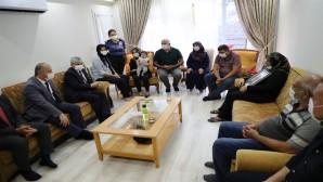 Vali Doğan'dan Şehit polis kemal Kurtul'un ailesine  Taziye Ziyareti