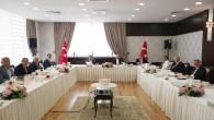 CHP Genel Başkanı Kemal Kılıçdaroğlu'nun öncülüğünde CHP'li 11 Büyükşehir Belediye Başkanı Bir Araya Geldi