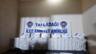 Yayladağı Polisi'nden Sigara Kaçakçılarına Darbe
