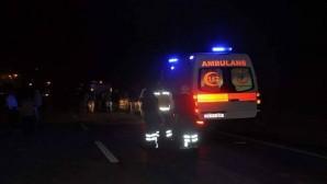 Dörtyol Jandarma Karakol Komutanı Trafik kazasında yaralandı
