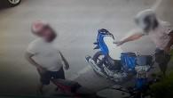 Kasklı motor hırsızları Polis'ten kaçamadı
