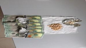 Reyhanlı'da captagon ve sahte AB doları ele geçirildi