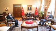 Vali Doğan'a Cumhurbaşkanlığı Başdanışmanından  Ziyaret