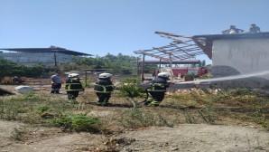 Hatay Büyükşehir Belediyesi İtfaiyesinden yangınlara anında müdahale