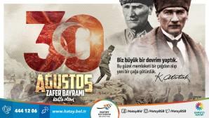 BAŞKAN SAVAŞ 30 AĞUSTOS ZAFER BAYRAMI'NI KUTLADI