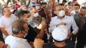 Dursunlu Ziyaretine Defne Belediye Başkanı İbrahim Güzel El Attı