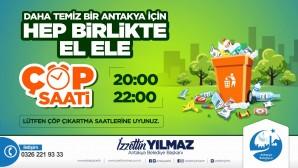 Antakya Belediyesi'nden vatandaşlara çöp hatırlatması: Çöpleri ağızları kapalı poşetlerde koyalım