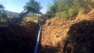 Arsuz'da iki mahallenin sorunlu içme suyu hattı yenilendi