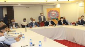 ATSO, Altınözü Enek Organize Sanayi Bölgesinde toplantı yaptı