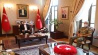 Albay Durmaz'dan Vali Doğan'a Veda Ziyaret