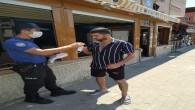 Arsuz ilçe Emniyet Müdürlüğünden vatandaşlara maske