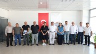Hatay Büyükşehir Belediyespor yönetiminden Başkan Savaş'a ziyaret