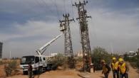 Samandağ ilçesinde elektrik çilesi