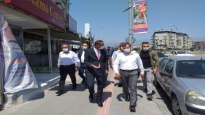 """Başkan Güzel : """"Covid-19 bitmedi devam ediyor"""""""